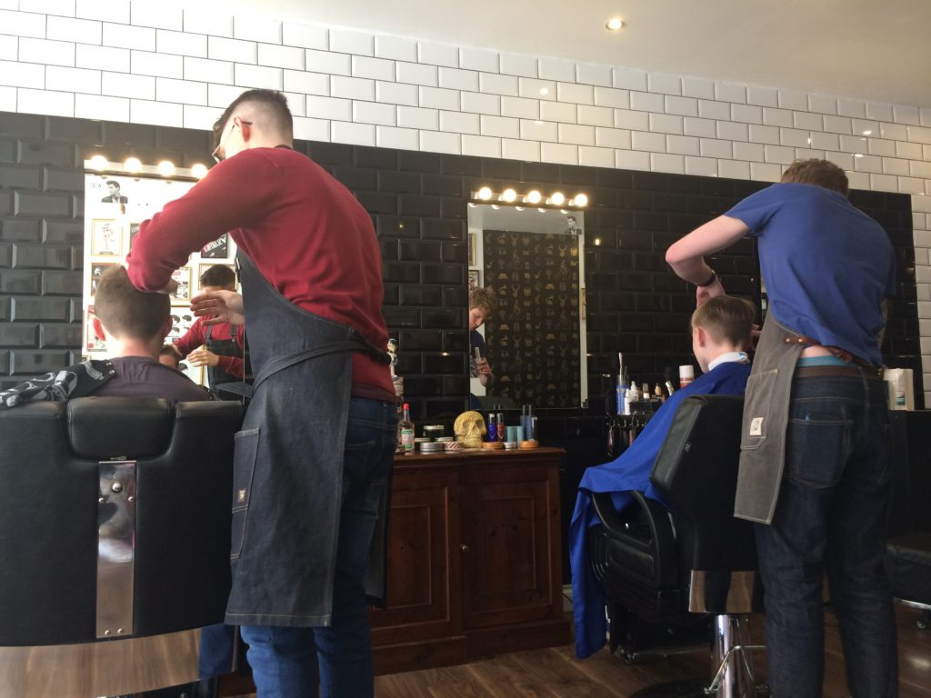 Barber, Sons, Haircut, Boys, 365