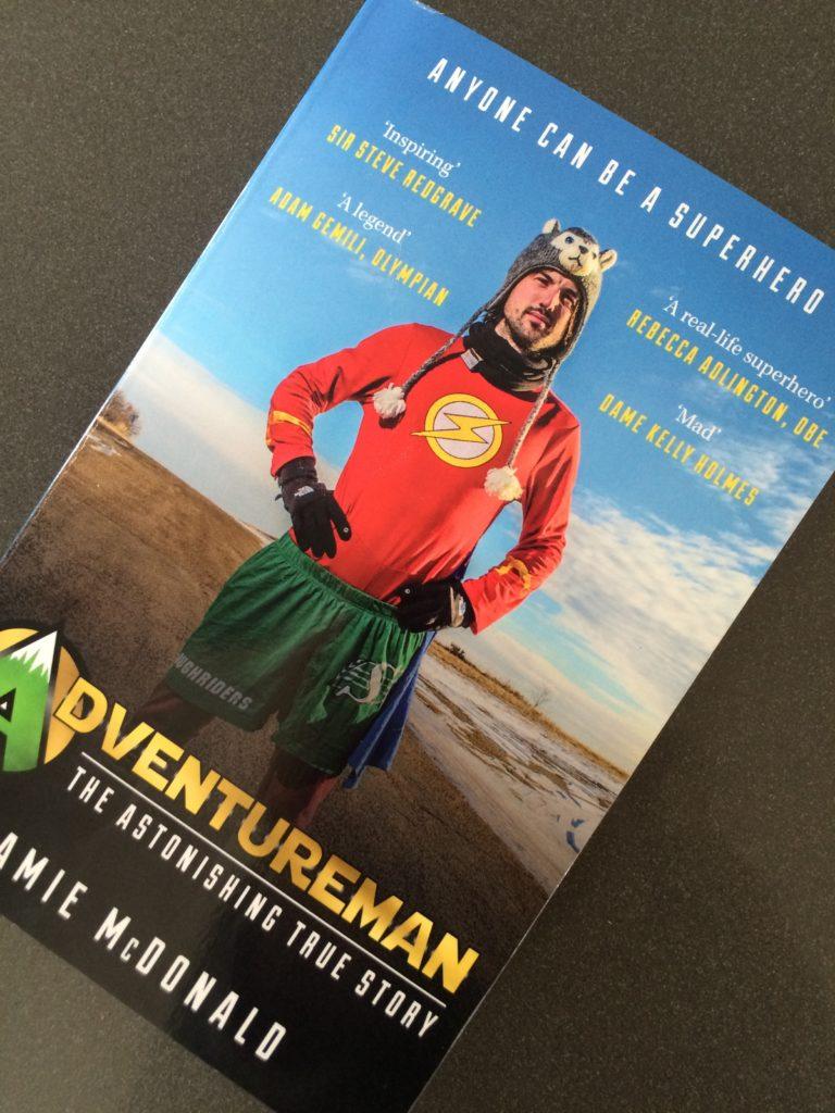 Adventureman by Jamie McDonald, Adventureman, Book review, Jamie McDonald