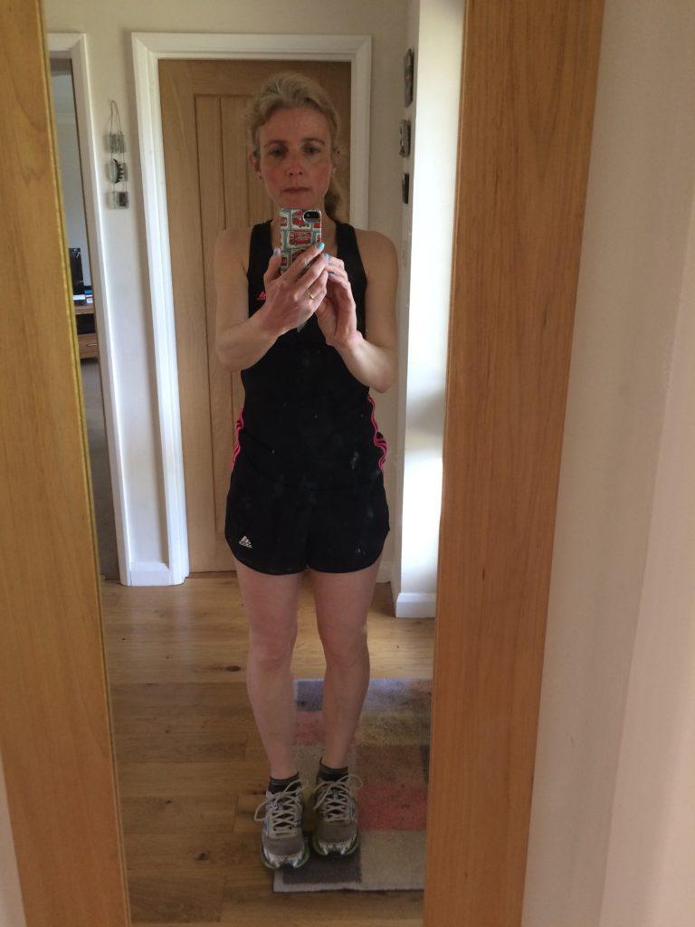My running wardrobe, Adidas shorts, Adidas vest, Adidas, Running