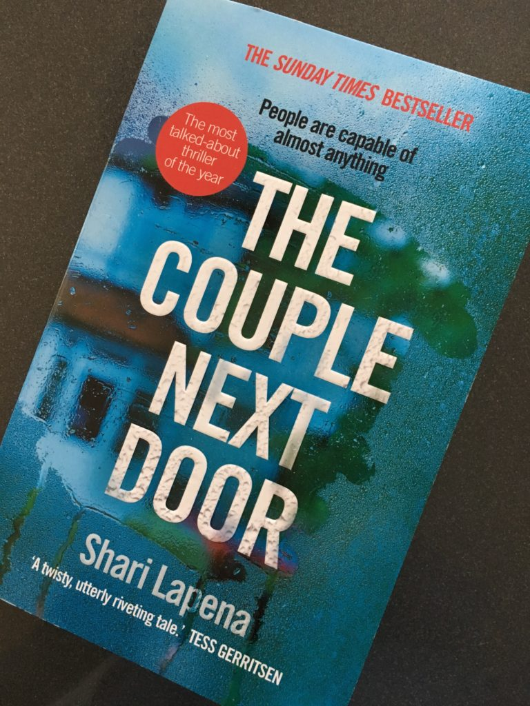 The Couple Next Door by Shari Lapena, Book review, Shari Lapena, The Couple Next Door