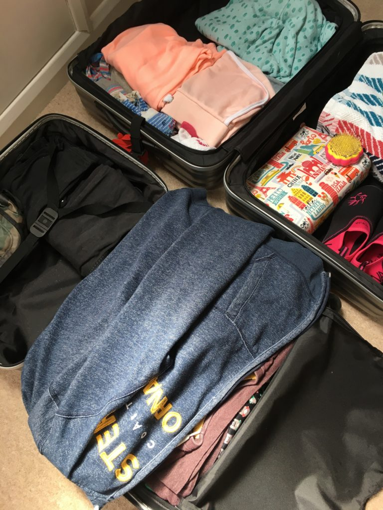 Packing, Suitcase, Son, Daughter, Residential, 365