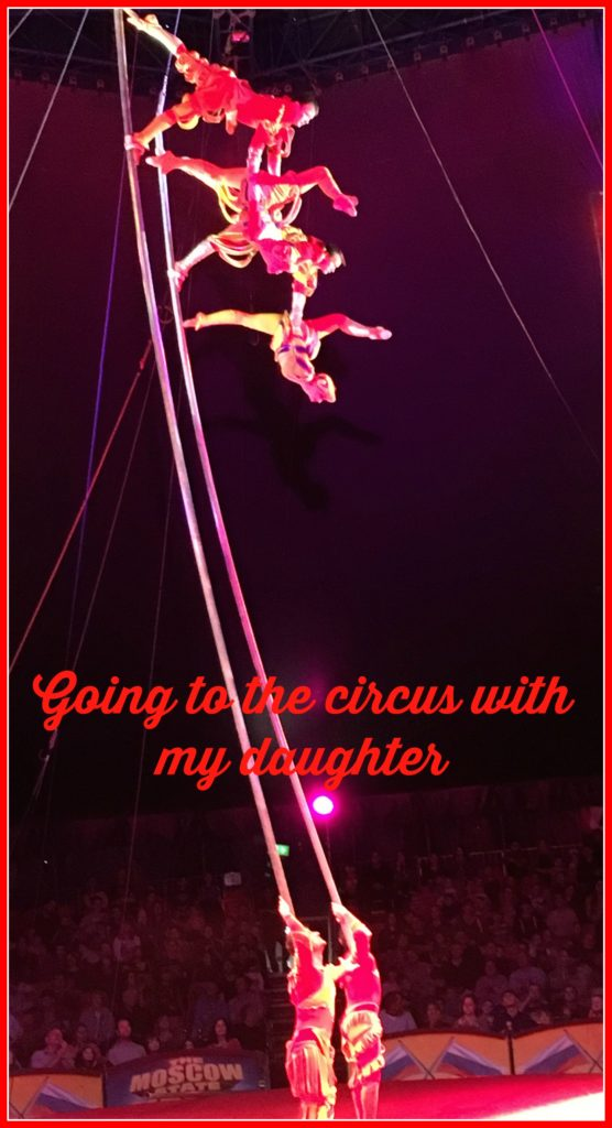 Circus, Moscow State Circus, Daughter, Going to the circus with my daughter