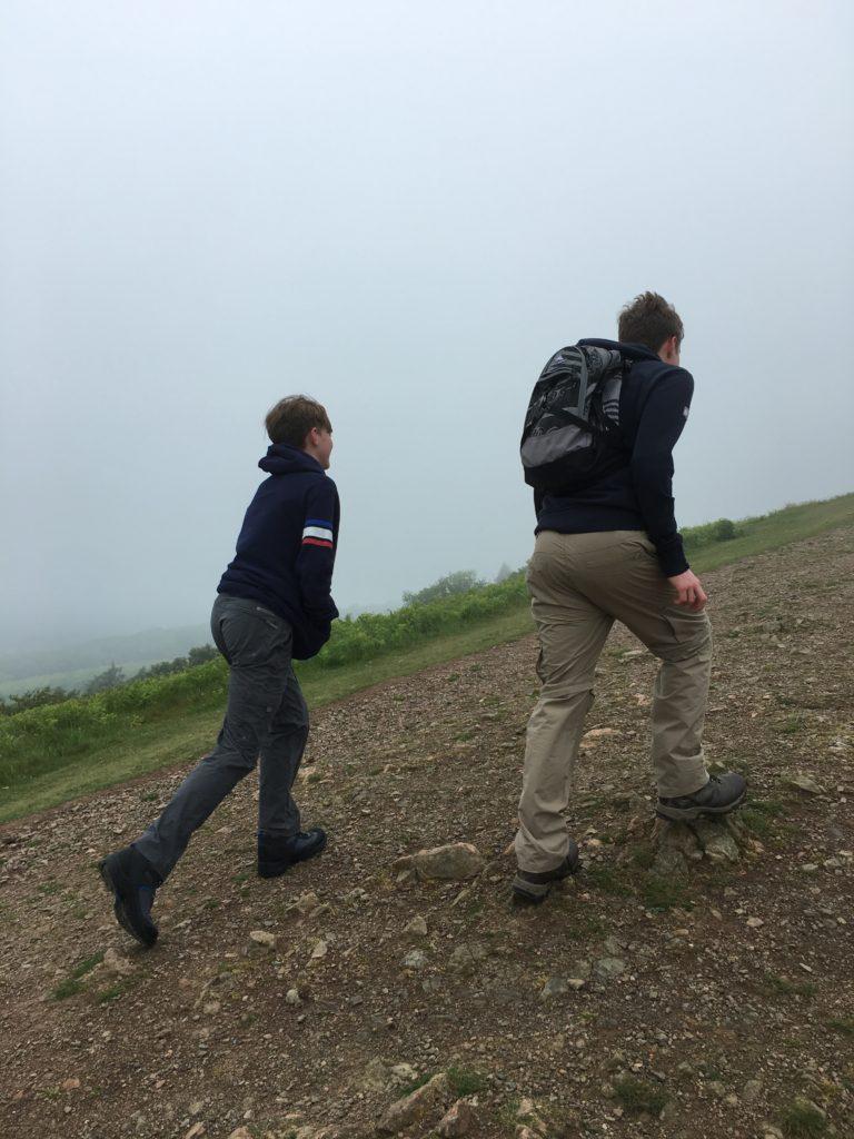 Sons, Malverns, Walking, Climbing, Three Peaks training, 365