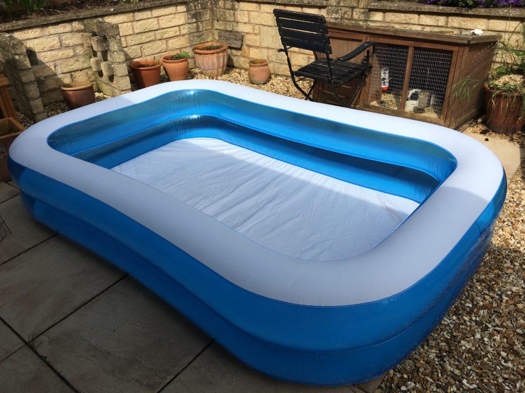 Paddling pool, Daughter, 365