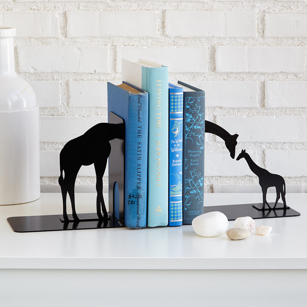 Giraffe bookend, Uncommon Goods, Bookends, Home, Interiors