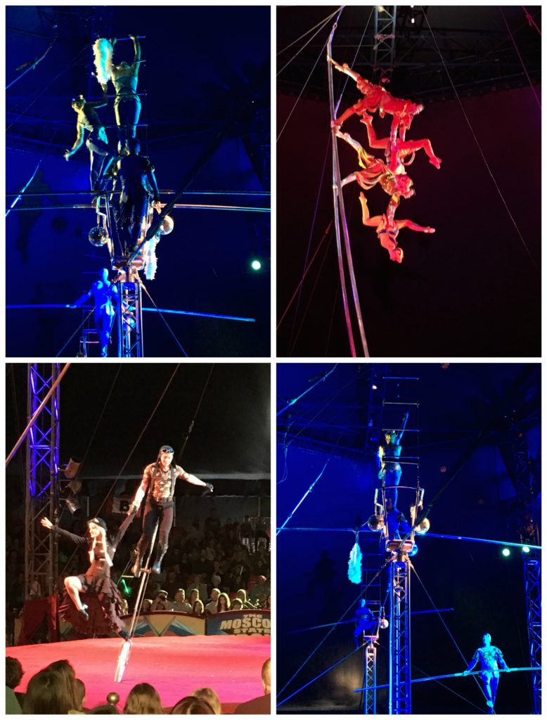 Circus, Moscow State Circus, Acrobats, Daughter