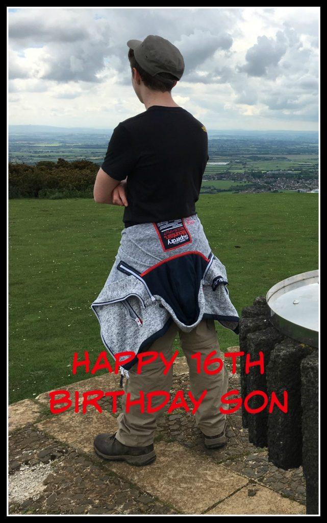 Son, 16th birthday, Birthday