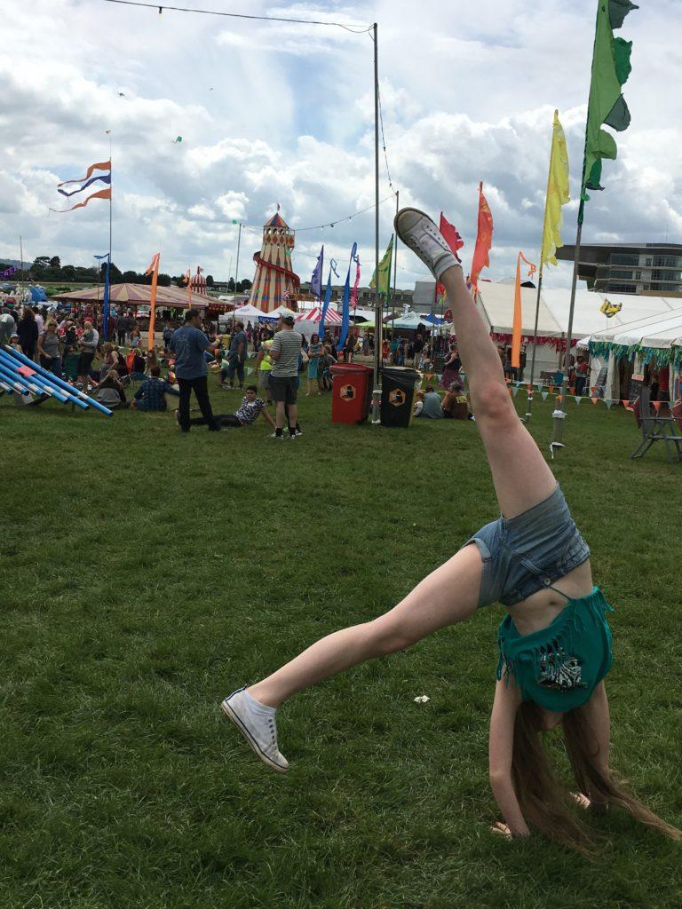 Cartwheel, Wychwood Festival, Daughter, 365