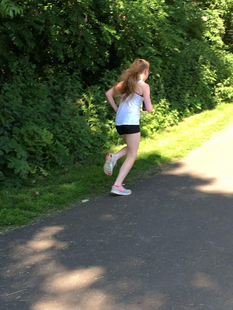 Daughter, Parkrun, Running, 365