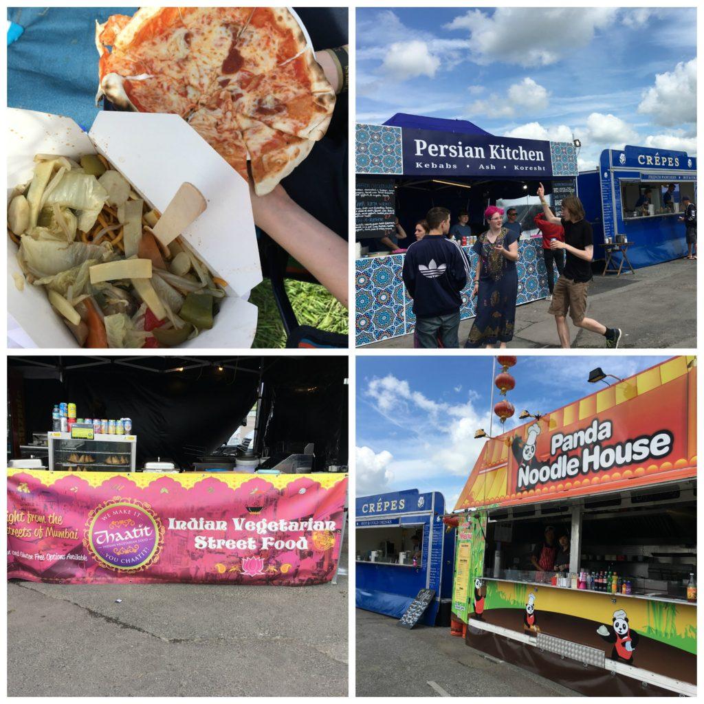 Wychwood Festival, Wychwood Festival food, Curry, Noodles, Pizza