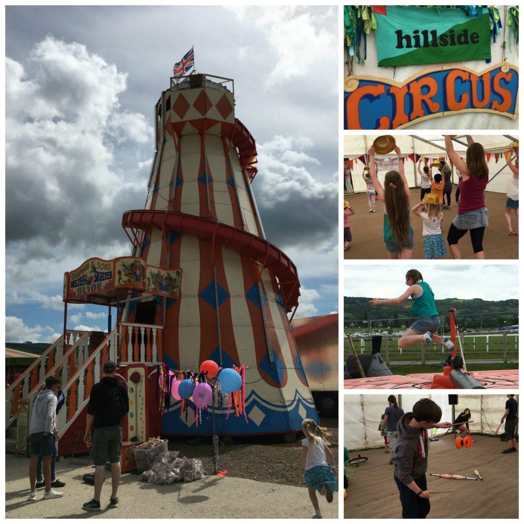 Wychwood Festival, Family festival, Family activities, Helter skelter, Cheltenham racecourse
