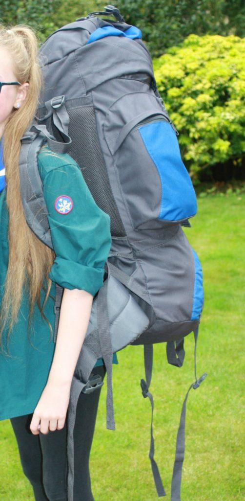 Daughter, Scout camp, Rucksack, 365