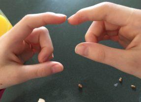 The broken finger