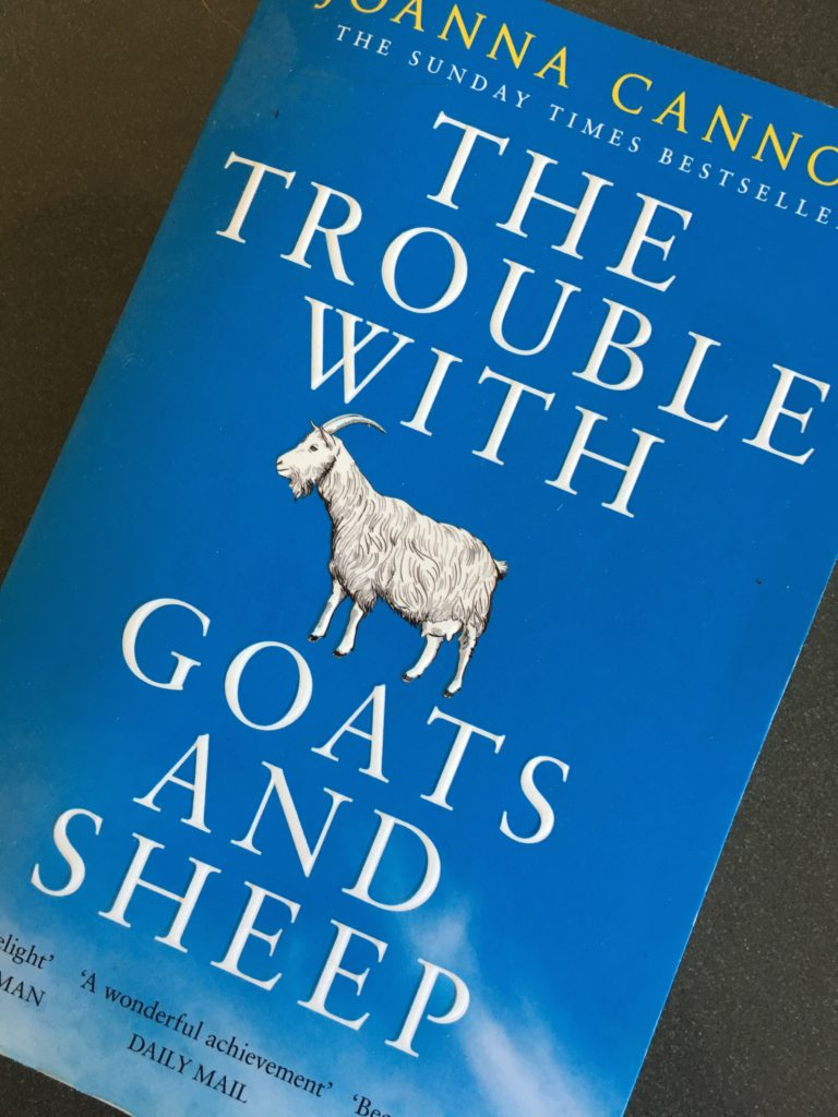 The Trouble with Goats and Sheep, Book review, Joanna Cannon, The Trouble with Goats and Sheep review