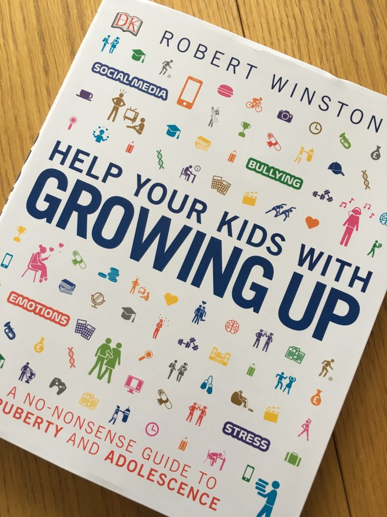 Help Your Kids With Growing Up by Robert Winston, Book review, Teenagers, Robert Winston