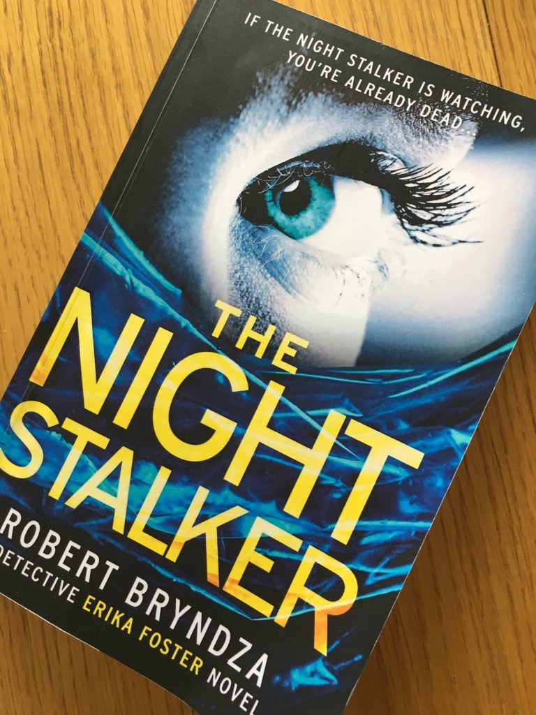 The Night Stalker by Robert Bryndza, Book review, The Night Stalker, The Night Stalker review, Robert Bryndza