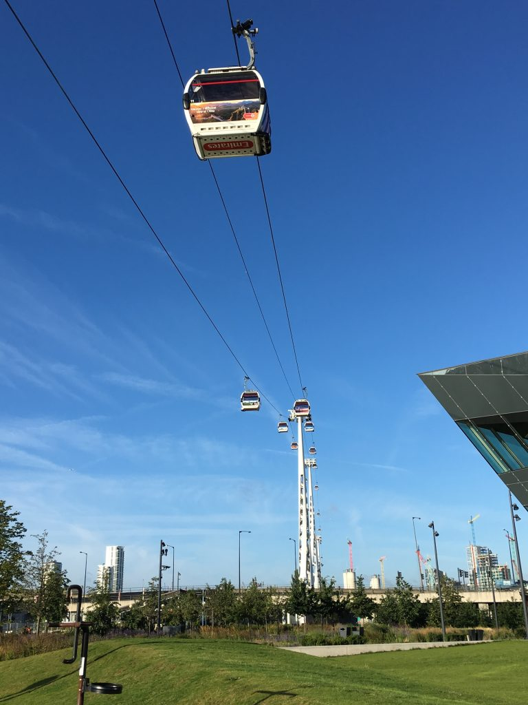 Emirates Airline, Cable car, London, The Good Hotel, East London, Docklands