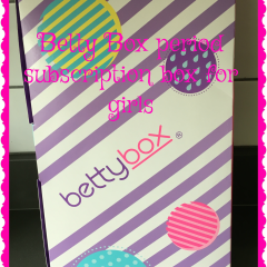 Betty Box monthly treats for teen girls