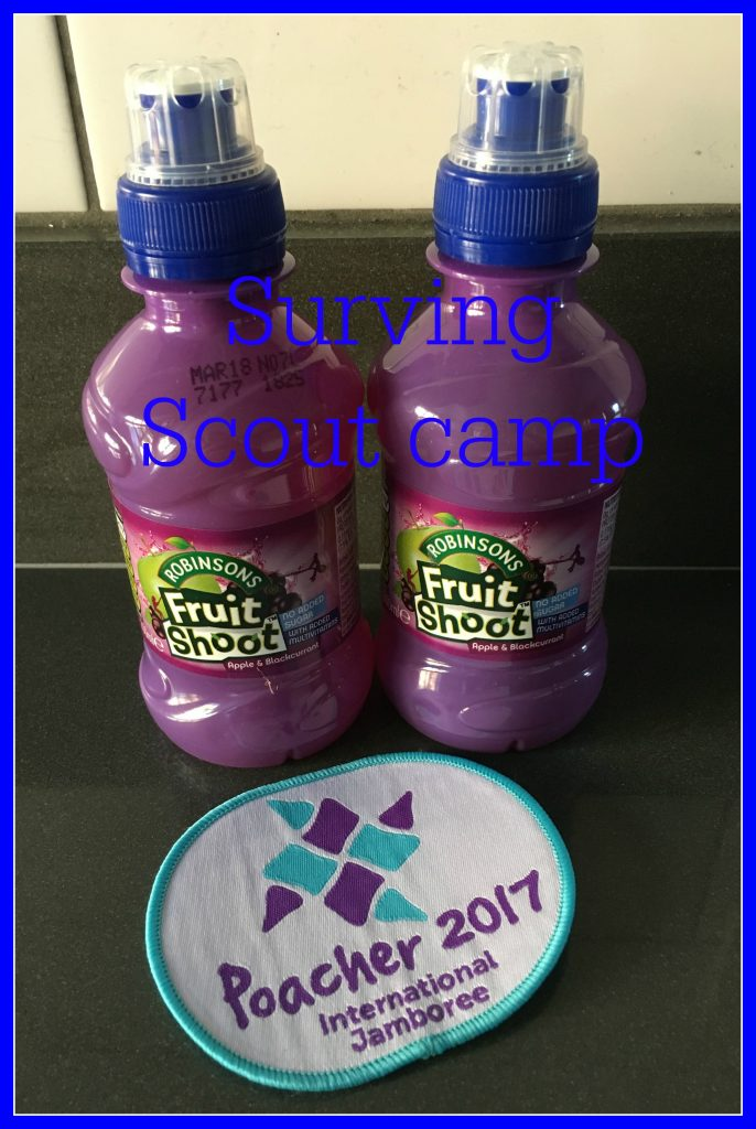 Scout camp, Surviving Scout camp, Daughter, Fussy eater, Fruit Shoot