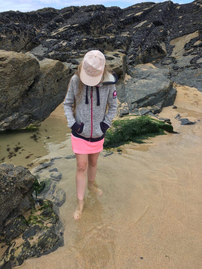 Daughter, Beach, Padstow, Cornwall, 365
