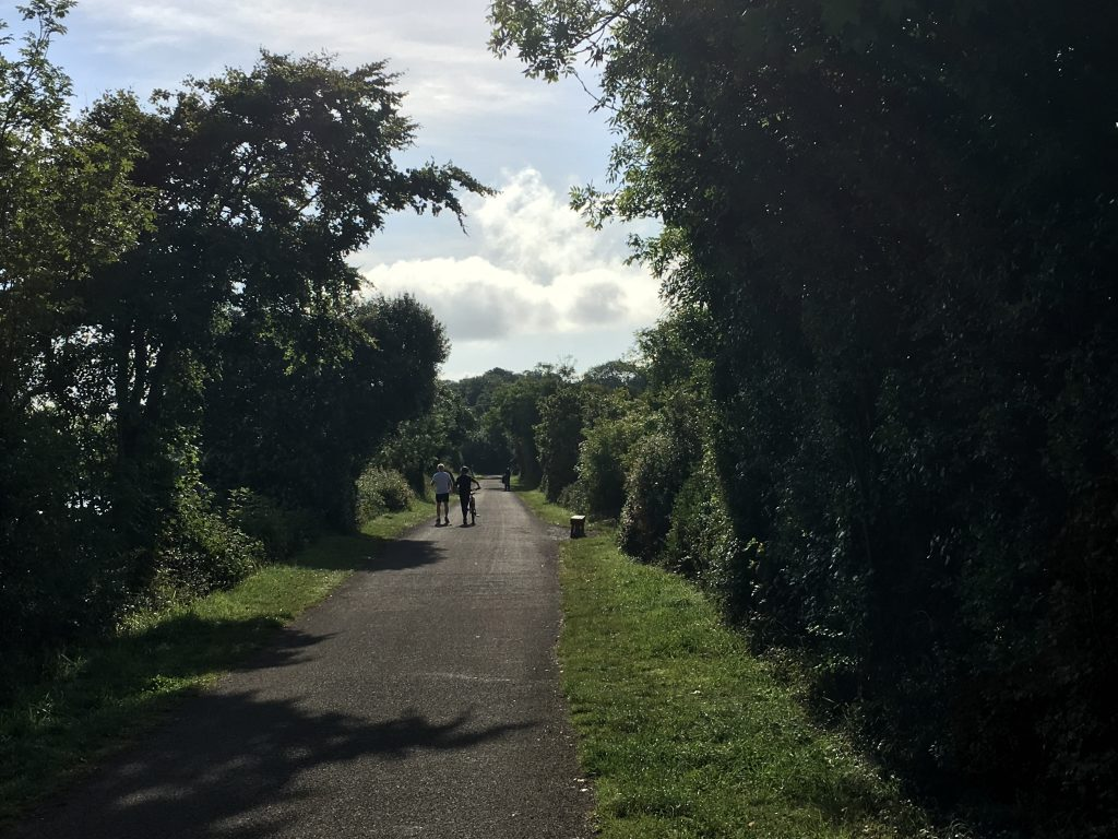 Camel Trail, Running, Cycling, Husband, Son, Daughter, 365