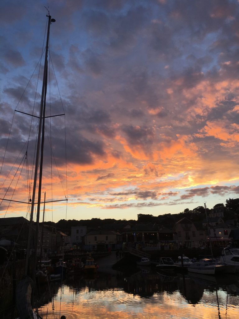 Sunset, Padstow, 365, Cornwall, Holiday