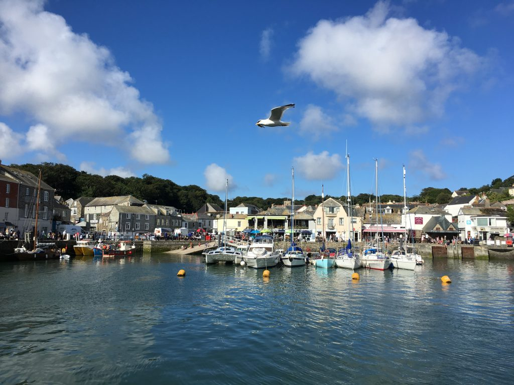 Padstow harbour, Cornwall, Holiday, Padstow, Don't advertise that you're on holiday!
