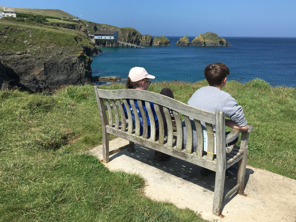 South West Coast Path, Son, Daughter, Cornwall, 365