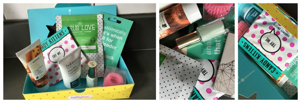 Betty Box, Betty Box review, Betty Box period subscription box, Teenagers, Girls