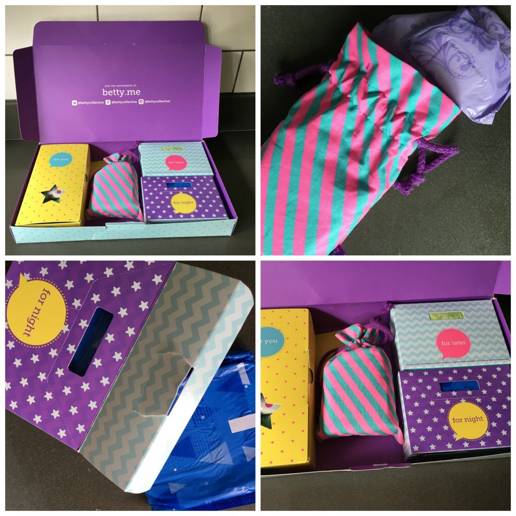Betty Box, Betty Box review, Periods, Teenagers, Girls