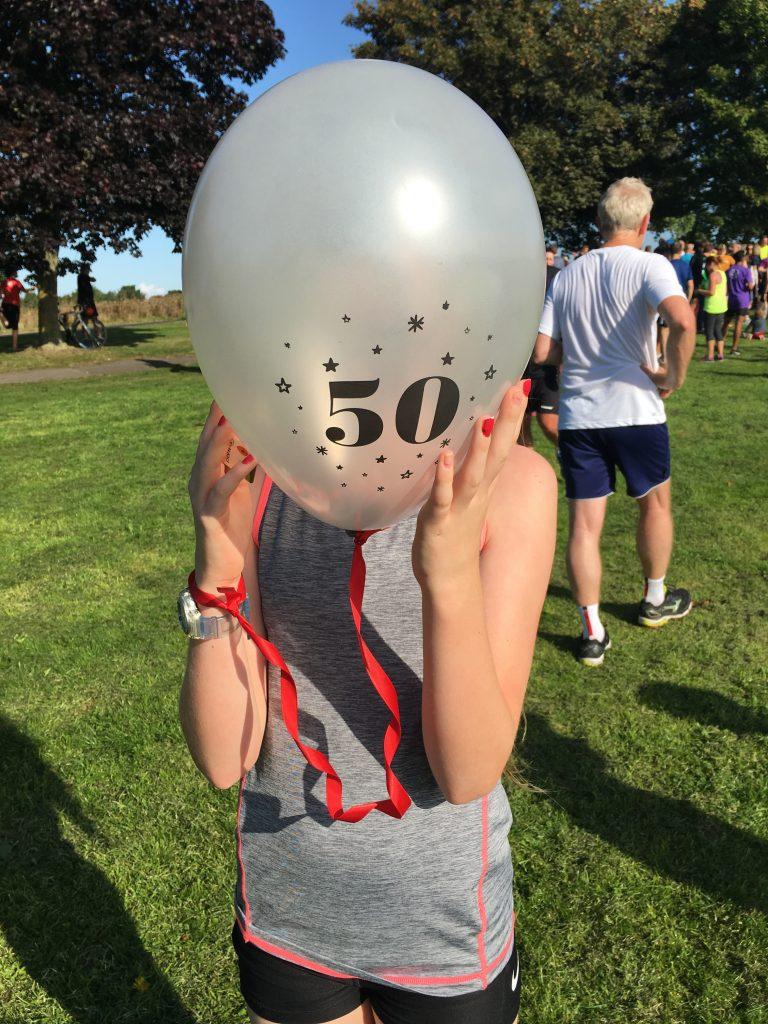Parkrun, Daughter, 50th Parkrun, 365