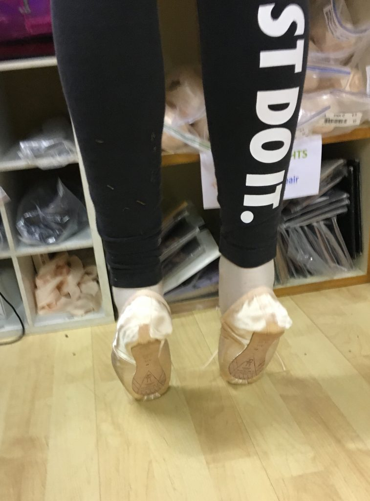 Pointe shoes, Ballet, Ballet shoes, Getting the first pointe shoes