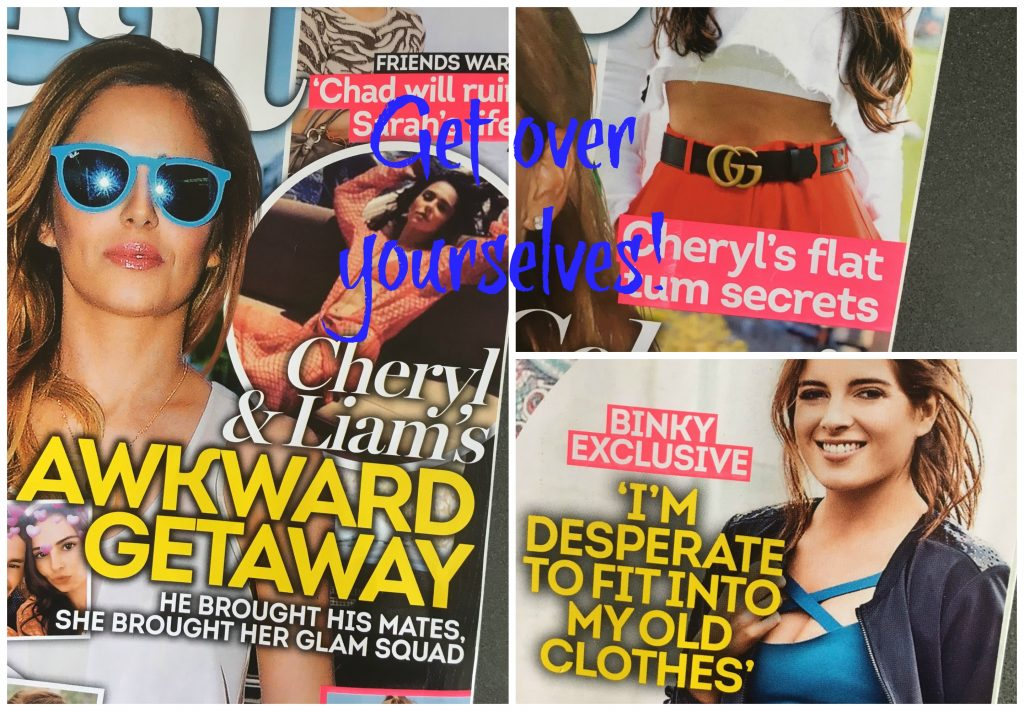 Celebrities, Celebrity mums, Celebrity mothers, Heat magazine, You're a mum - get over yourself!