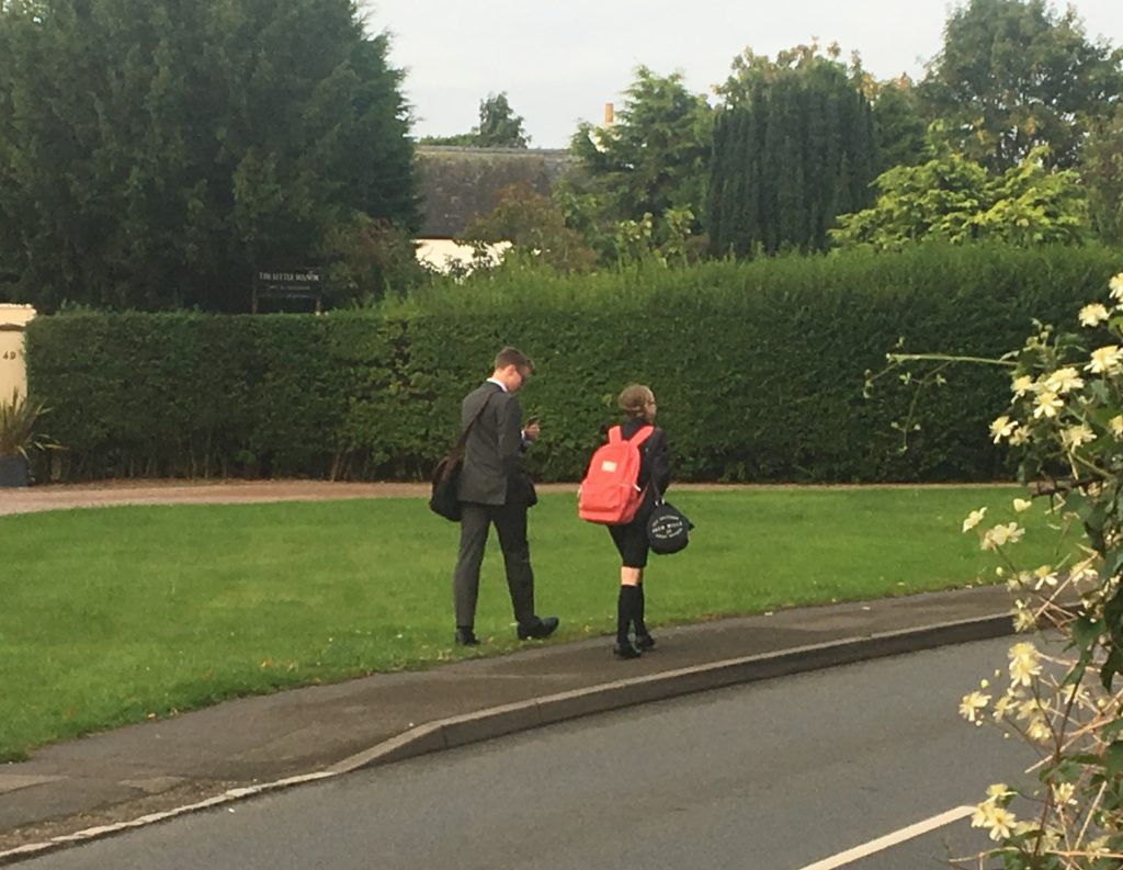 Son, Daughter, School, The new school - settling in to sixth form