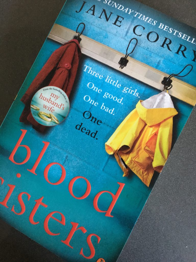 Blood Sisters by Jane Corry, Book review, Blood Sisters review, Jane Corry