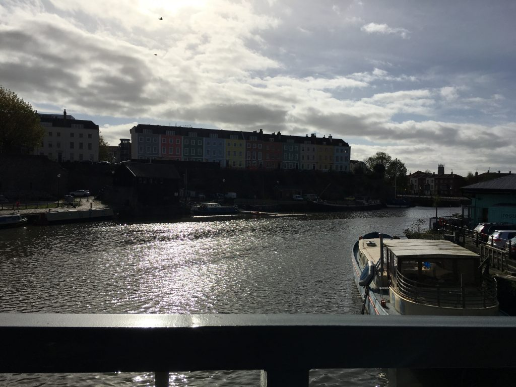 Bristol, Houses, Harbour, Water, Boats, A birthday walk in Bristol