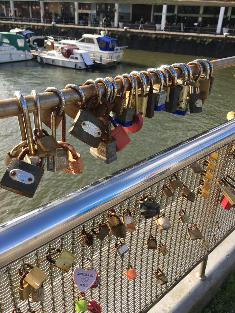 Bristol, Love locks, A birthday photo walk in Bristol