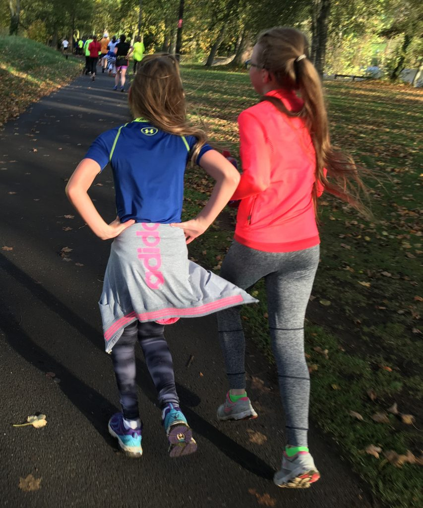 Parkrun, Daughter, Friend, 365, Running