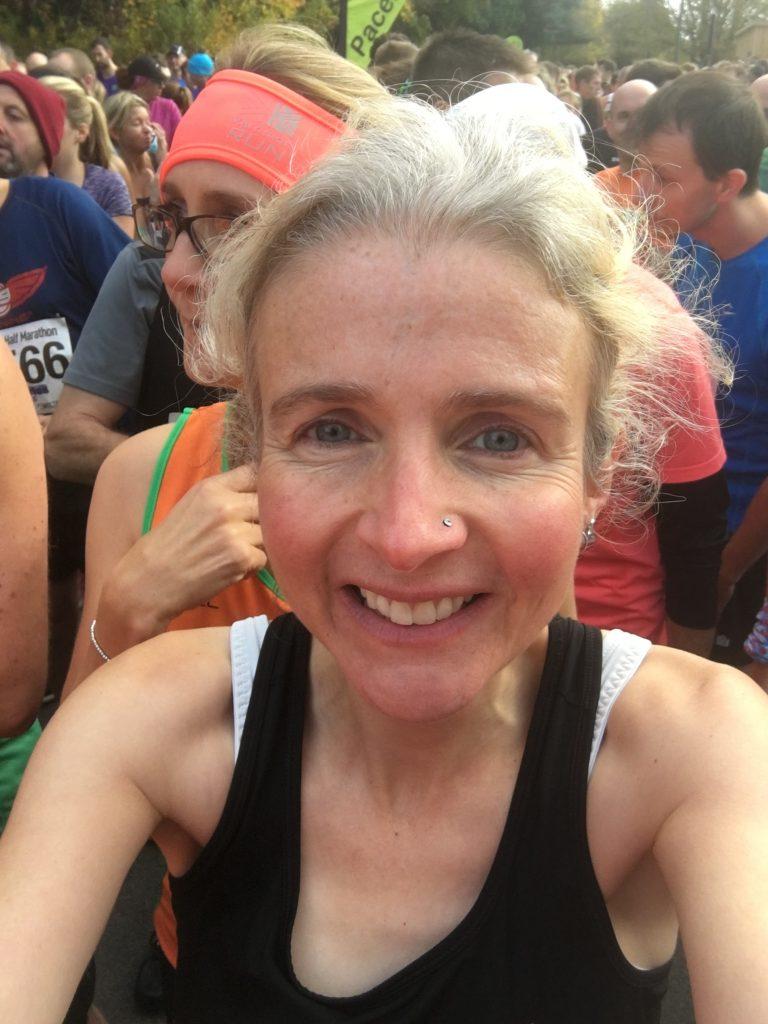 Stroud half marathon, Selfie, Stroud half marathon - a wobble