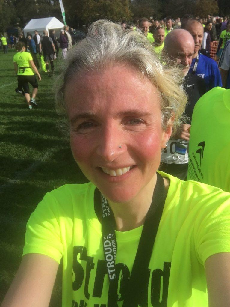 Selfie, Stroud half marathon, Stroud half marathon - smashed it!