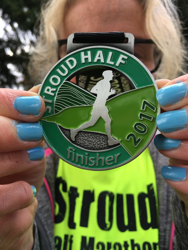 Medal, Stroud half marathon, Silent Sunday, My Sunday Photo, run, How far did I run in 2017?
