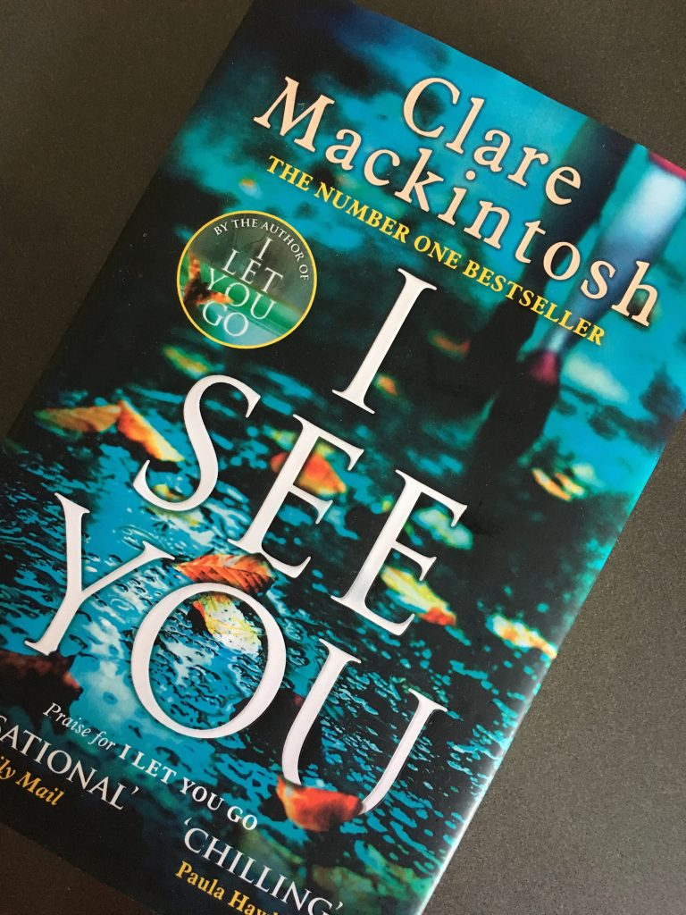 I See You, Clare Mackintosh, Book review, I See You by Clare Mackintosh