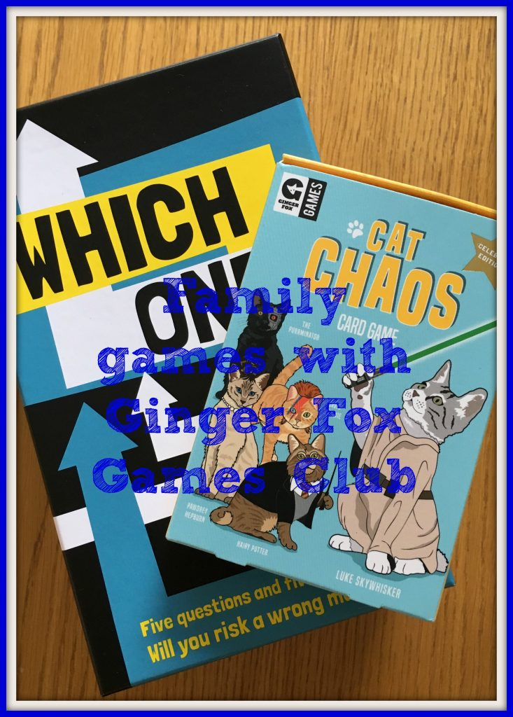 Family games with Ginger Fox Games Club, Games, Ginger Fox, Review
