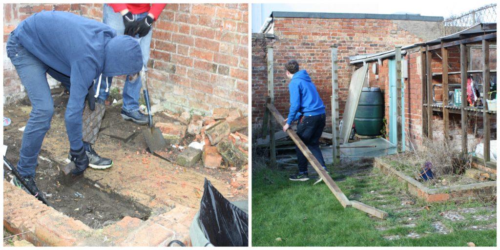 Garden renovations, DIY, Could I DIY?, Garden, Family
