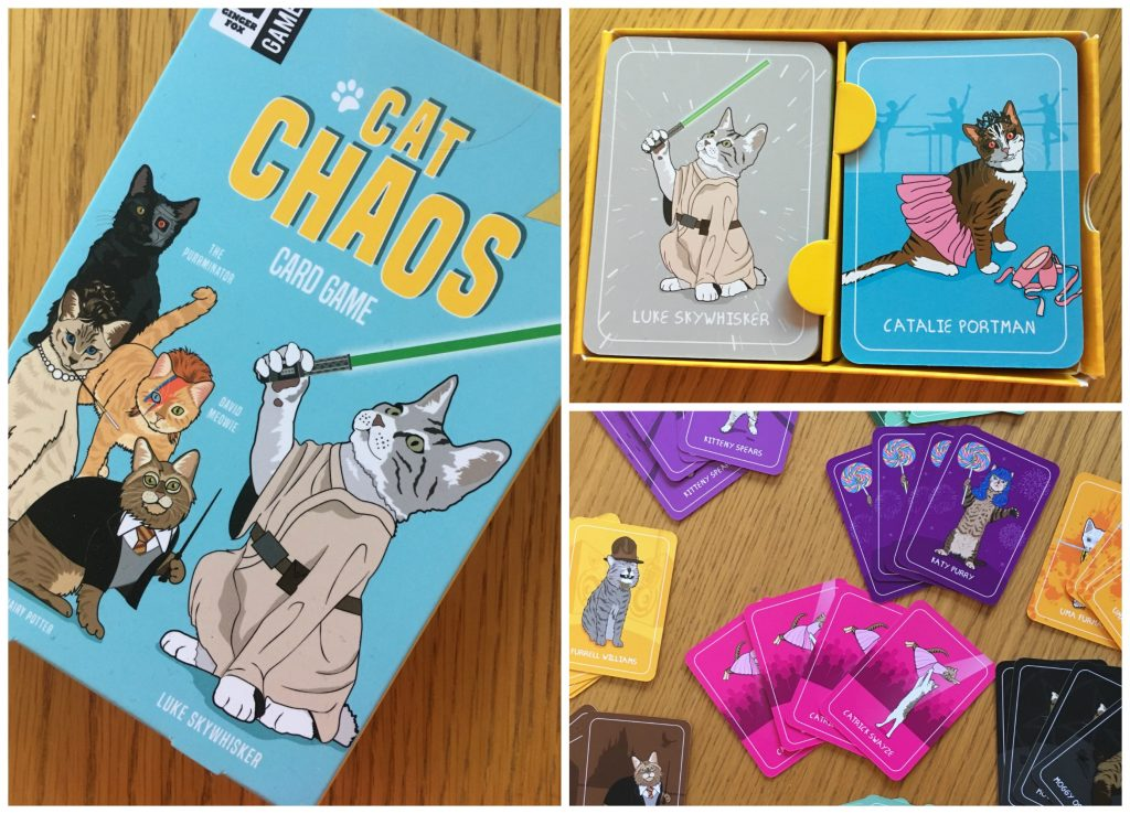 Cat Chaos, Game, Review, Ginger Fox, Ginger Fox Games Club