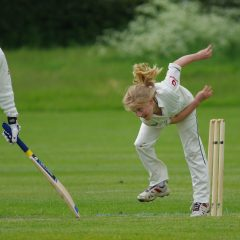 My son, the summer and cricket