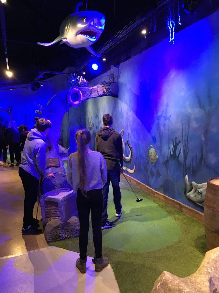 Indoor golf, Crazy golf, German exchange, Kids, 365