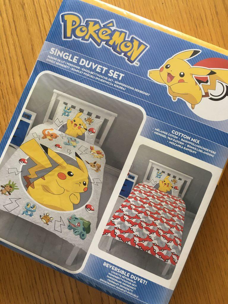 Pokemon bedding, Character World, Giveaway Pokemon bedding from Character World