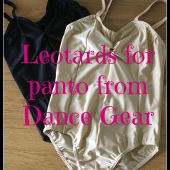 Leotards for panto from Dance Gear