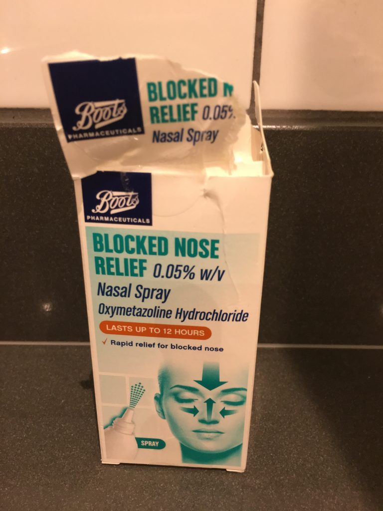 Nasal spray, Son, Broken nose, 365